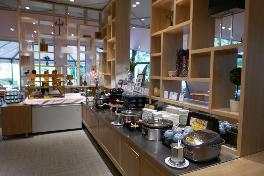 ホテル日航成田 朝食バイキング