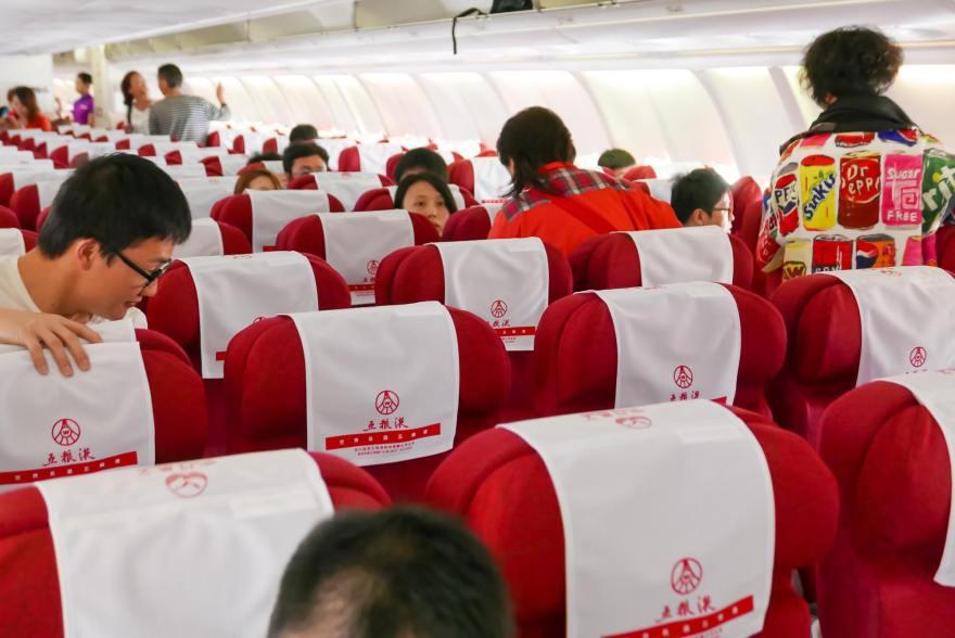 四川航空 機内