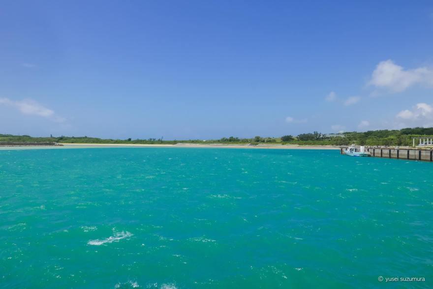 小浜島 海