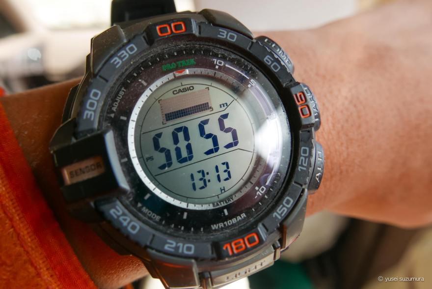 プロトレック 時計