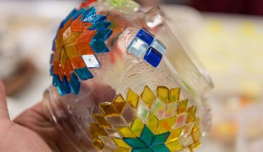 新宿にあるトルコ文化センターでデザインと模様がおしゃれなモザイクトルコランプを作ってきました。