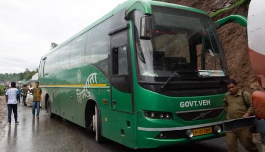 デリーからマナリへ自力でバスで行く方法!