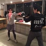 ボクシング女子増えてます!!