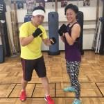 夫婦でプライベートボクシング!!
