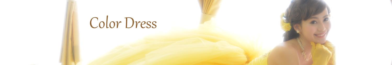 カラードレスのカタログべページ