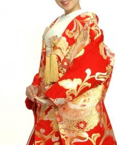 ゴールドの宝相華文様が豪華な逸品。川島織物の織り成す本物の美