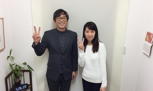 代表と青柳裕美カウンセラー