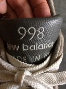 newbalance m998 logo