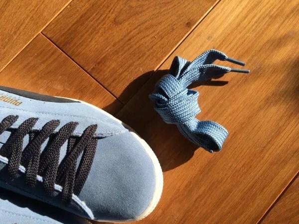 puma suede shoe-lace