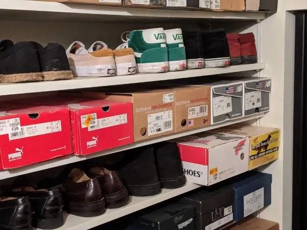 【2020年】元靴屋のやりたいこと(欲しいモノ)リスト100シューズクローゼット画像