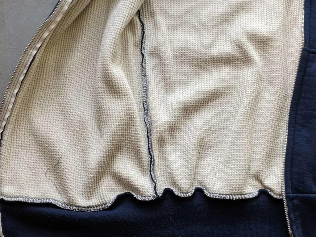 【キャンバー・チルバスター】アメリカ生まれ・高コスパスウェットのサイズ感や種類・違いをレビュー・裏地サーマル画像