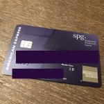 紫色のやつ〜SPG Starwood Preferred Guest Card