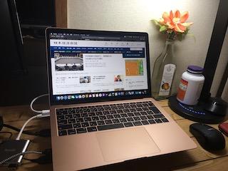 MacBook Air新調