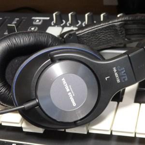 【最近買ったモノ②】スタジオモニターヘッドホンJVC「HA-MX100-Z」