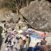 【外岩ボルダリング講習】11月3日の外岩講習は御岳になりました