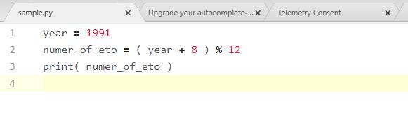 Pythonのエディターがめちゃ見やすくなりました