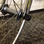 [凹] ロードバイクのパーツにカギをかけて盗難防止!走行可能なダイヤルロック!【SphykeのC3N】
