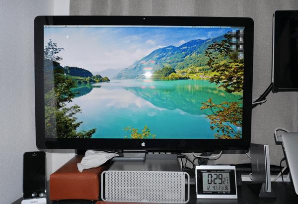 [凹] Thunderbolt DisplayでMacBook Airが母艦に!家・外関係なく作業をシームレスにできるよ!