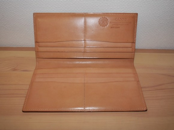 Hiroyaki leather long wallet debut002
