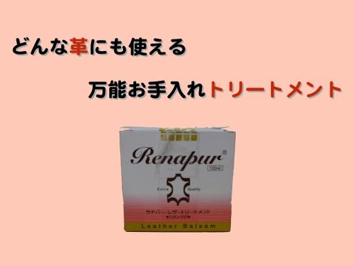 Hiroyaki leather renapur001
