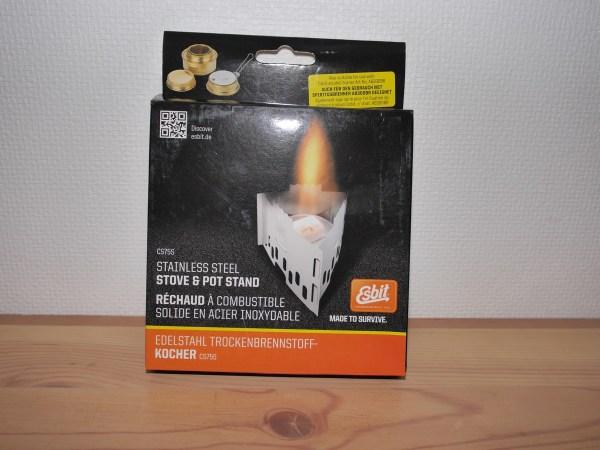 Esbit stainless steel stove001