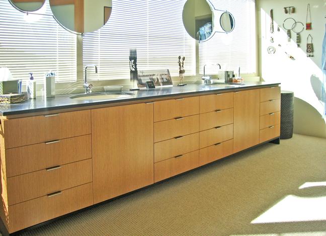 Contemporary Kitchen Amp Bath Hirsch Custom Cabinets Inc