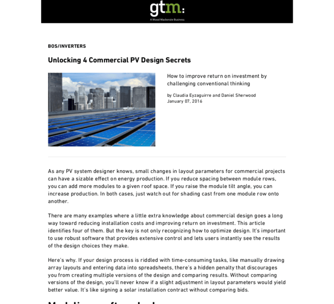 Unlocking 4 Commercial PV Design Secrets _ Greentech Media