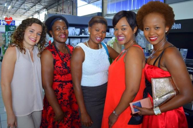 Maryke Fleishman, Phumi Khotsa, Portia Moshoeu, Kea Molefe, Phumzile Skosana (Medium) (2)