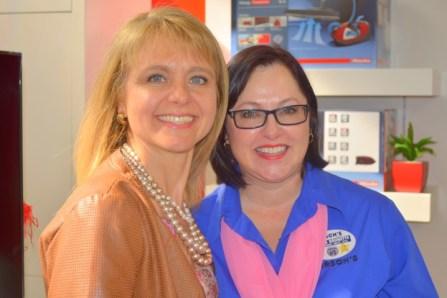 Guest Speaker Nicolette Steel with Joanne Brunette (Small)