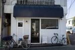 中板橋・1ROOM COFFEE プレスコーヒーとカフェラテ(共に500円)