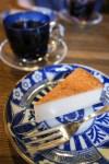 錦糸町・すみだ珈琲 チーズケーキとすみだブレンドの深煎りを。