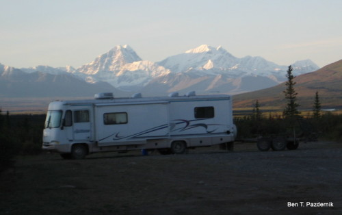 Boondocking Denali Highway