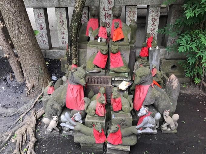 笠間稲荷神社狛狐
