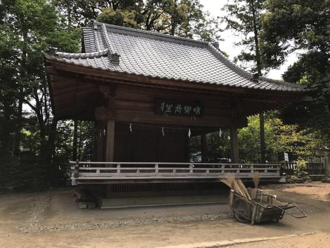 大宮氷川神社神楽殿