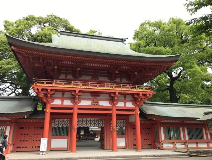 大宮氷川神社桜門