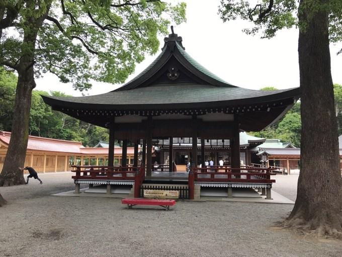 大宮氷川神社舞殿