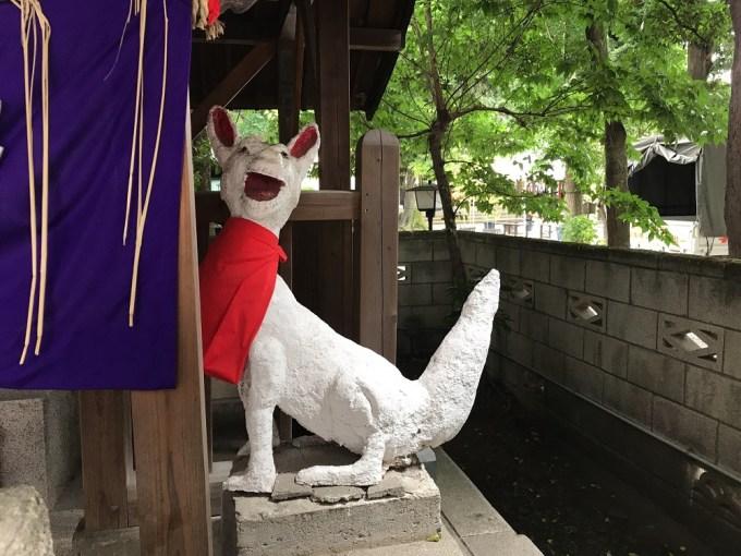 伏見稲荷社駒狐