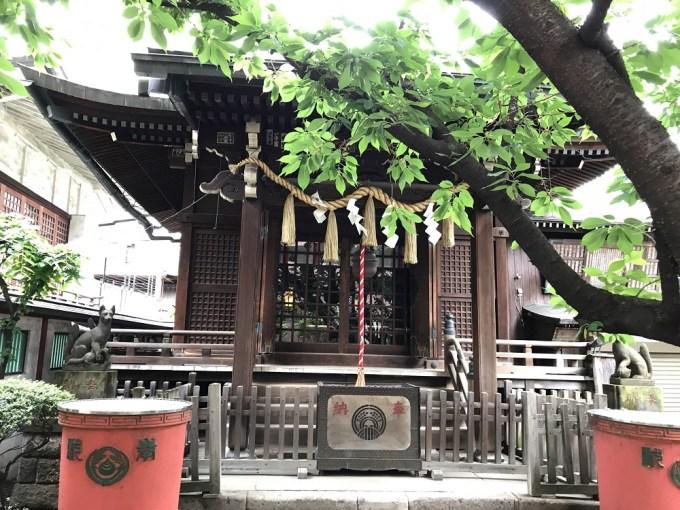 柳森神社拝殿