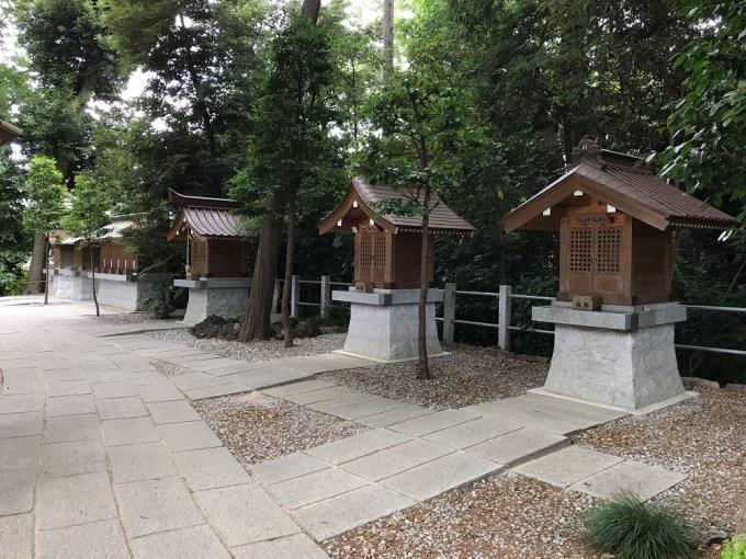 越谷久伊豆神社末社