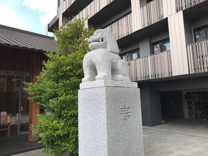 赤城神社狛犬右