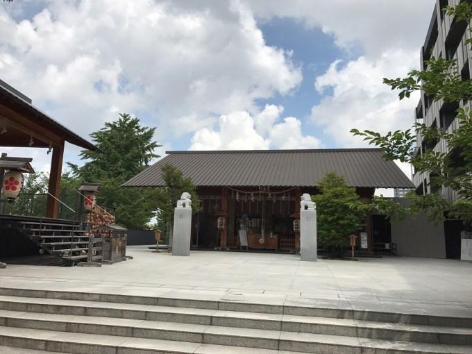 赤城神社境内