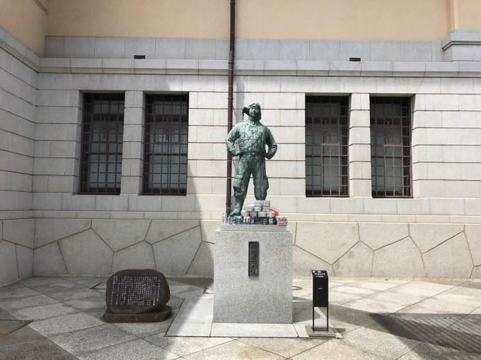 靖国神社特攻有志の像