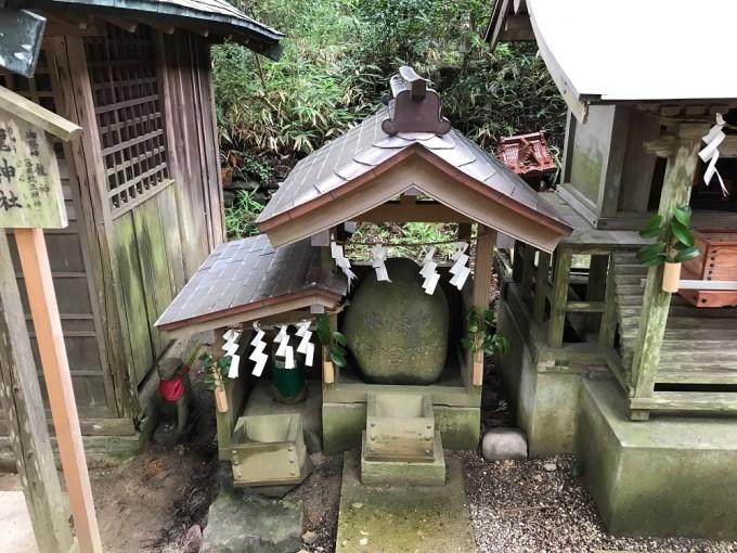 大崎八幡宮龍神社
