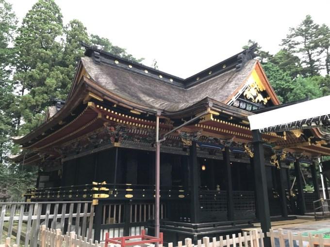 大崎八幡宮拝殿左