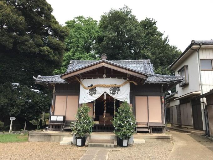 九重神社拝殿