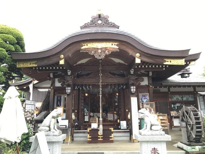水宮神社拝殿