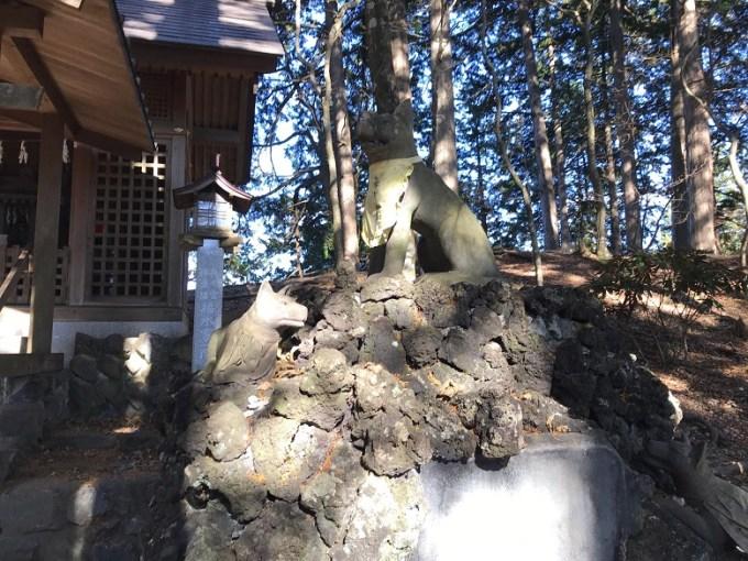 三峯神社遠宮狛狼右