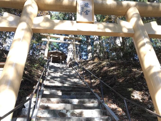 三峯神社遠宮参道