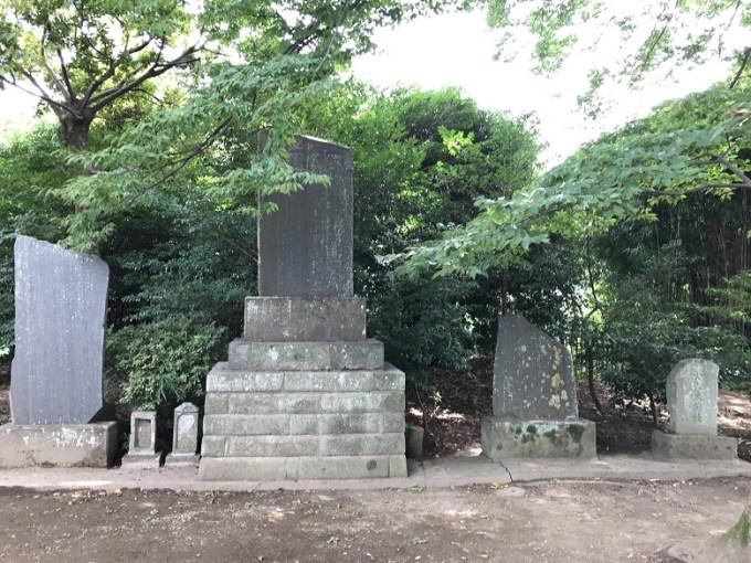 武蔵第六天神社石碑2