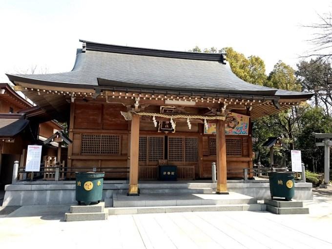 和楽備神社拝殿